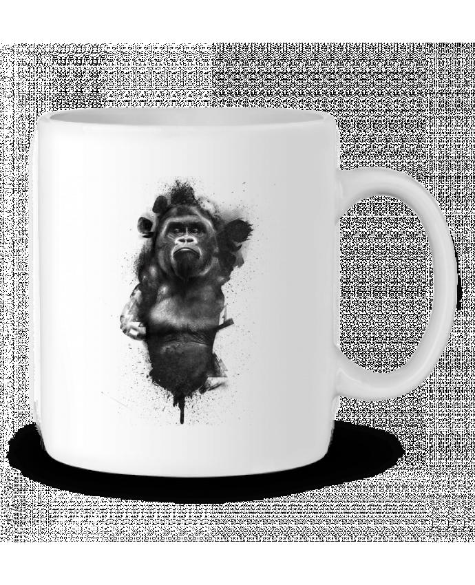 Taza Cerámica Gorille por WZKdesign