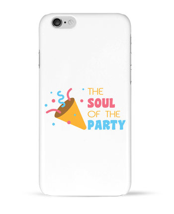 Carcasa 3D Iphone 6  The soul of the porty por tunetoo
