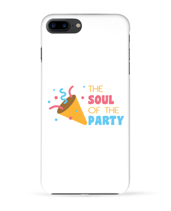 Carcasa 3D Iphone 7+ The soul of the porty por tunetoo