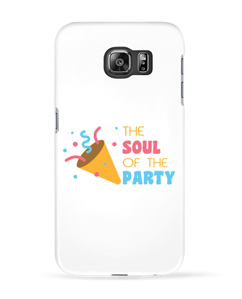 Carcasa 3D Samsung Galaxy S6 The soul of the porty - tunetoo