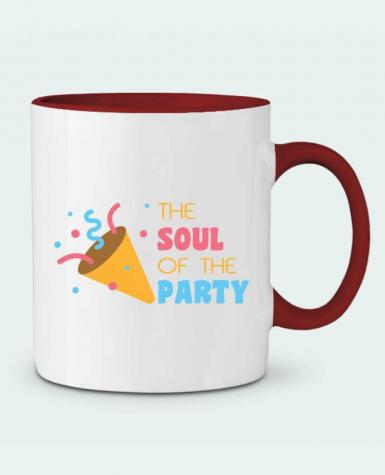 Taza Cerámica Bicolor The soul of the porty tunetoo