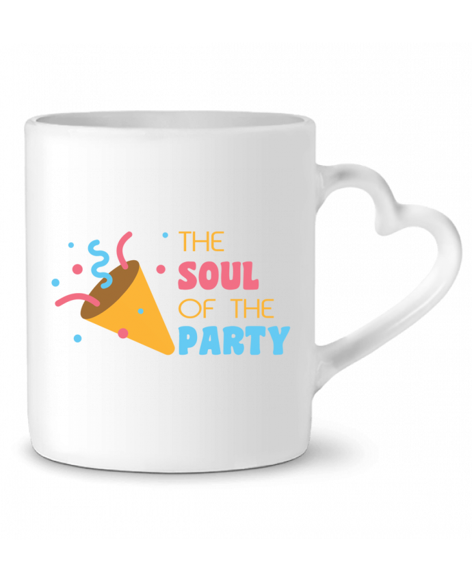 Taza Corazón The soul of the porty por tunetoo