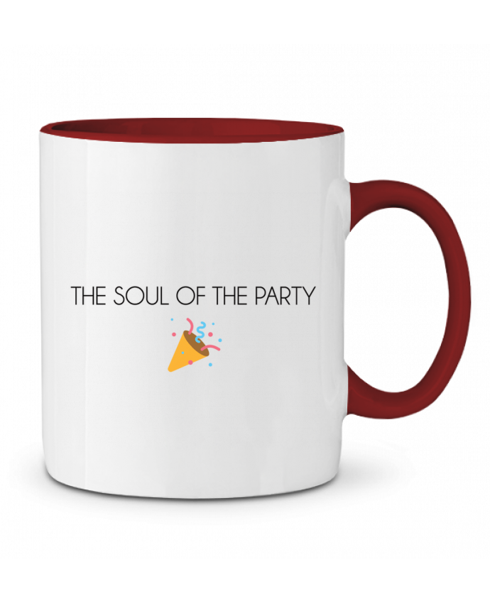 Taza Cerámica Bicolor The soul of the porty basic tunetoo