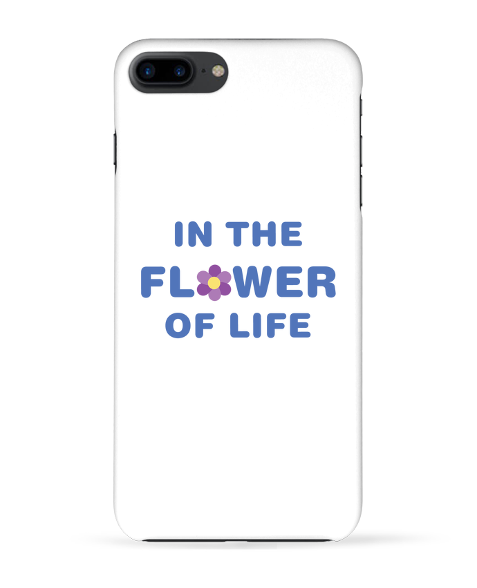 Carcasa Iphone 7+ In the flower of life por tunetoo