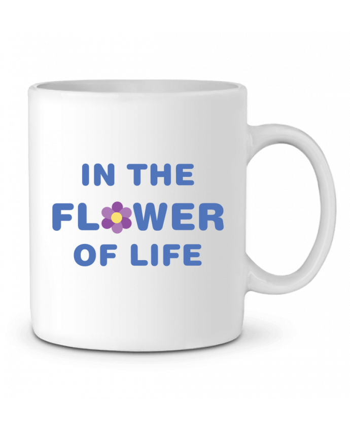 Taza Cerámica In the flower of life por tunetoo