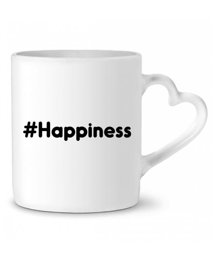 Taza Corazón #Happiness por tunetoo