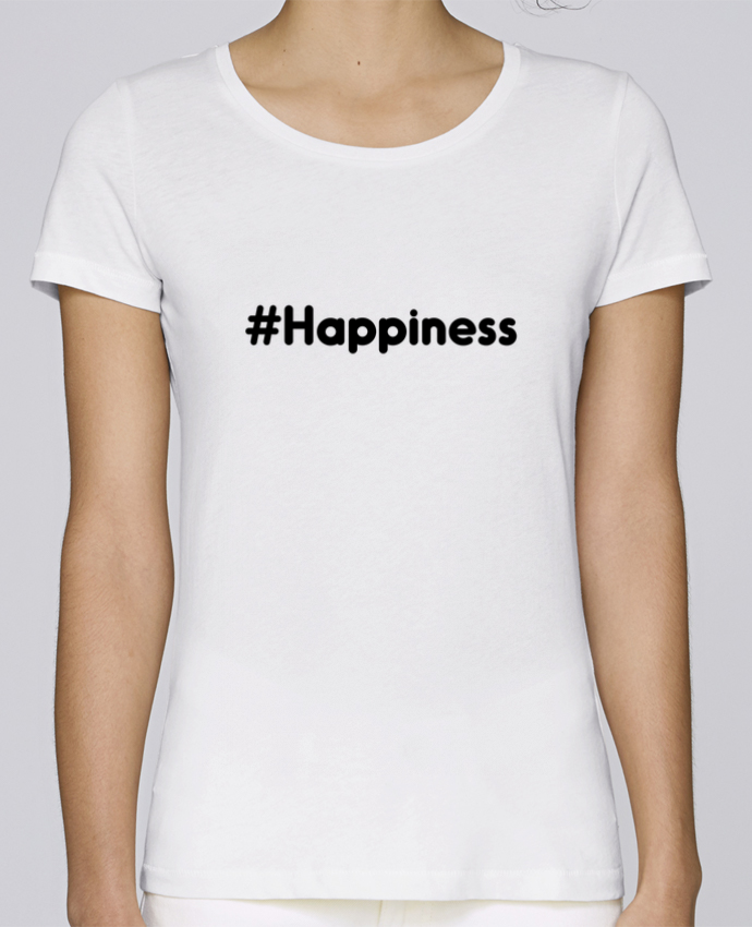 Camiseta Mujer Stellla Loves #Happiness por tunetoo