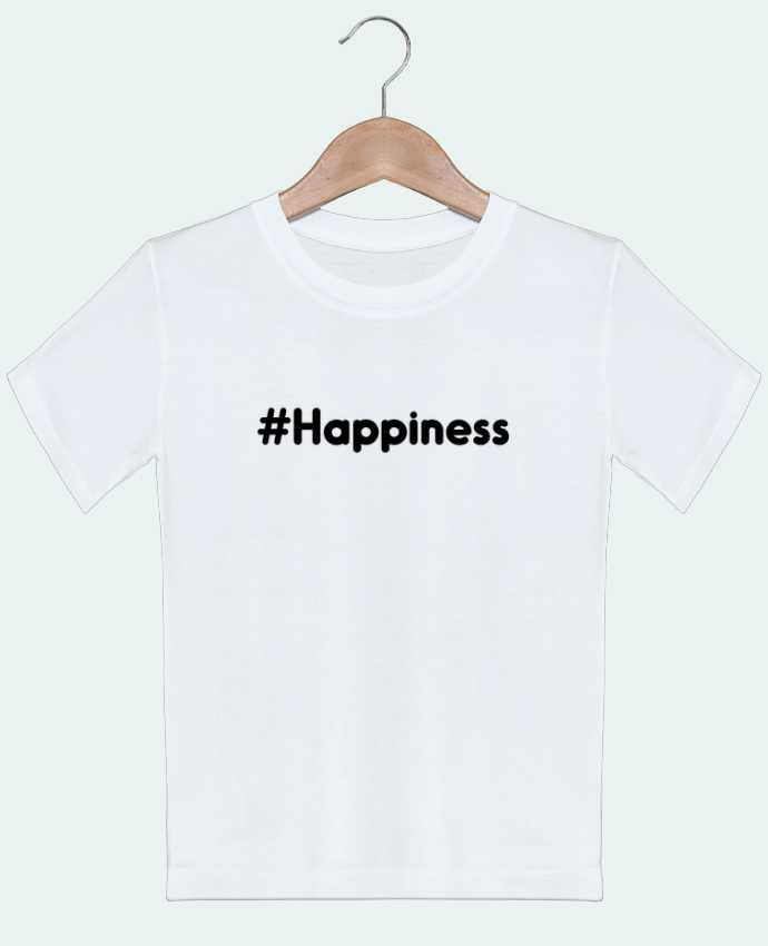 T-shirt garçon motif #Happiness tunetoo