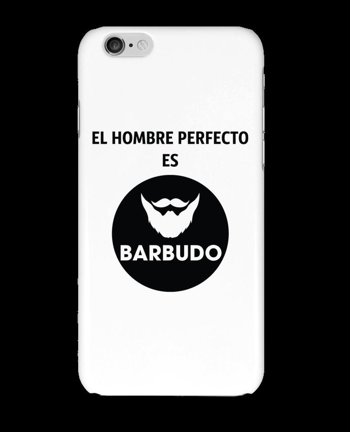Carcasa  Iphone 6 El hombre perfecto es barbudo por tunetoo