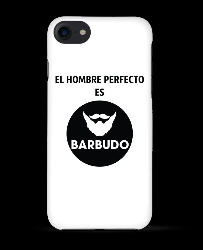 Carcasa Iphone 7 El hombre perfecto es barbudo de tunetoo