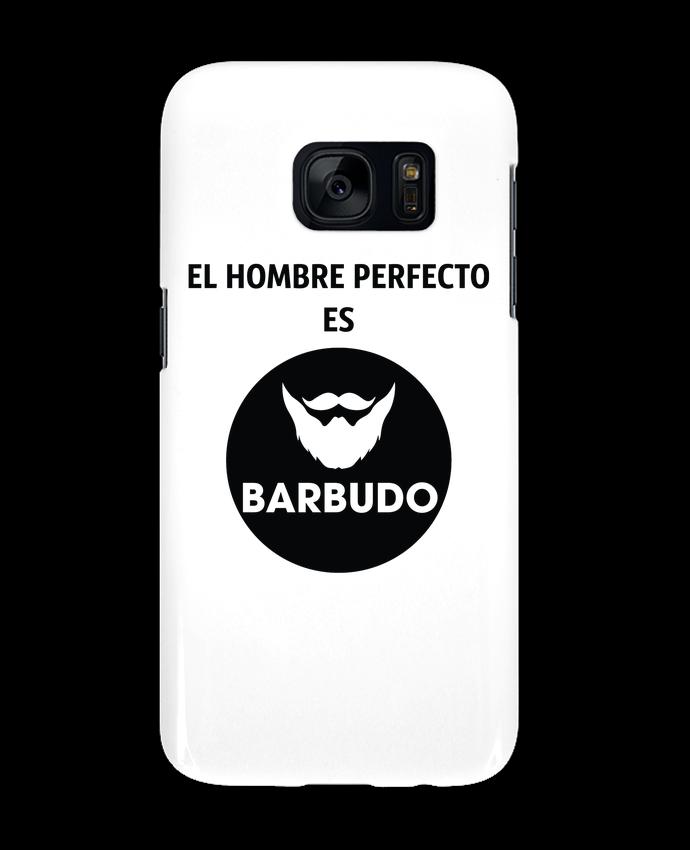 Carcasa Samsung Galaxy S7 El hombre perfecto es barbudo por tunetoo