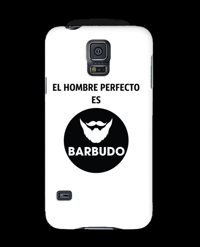 Carcasa Samsung Galaxy S5 El hombre perfecto es barbudo por tunetoo