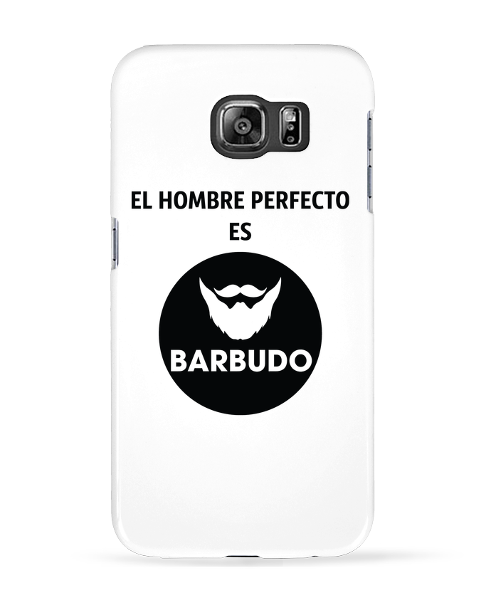 Carcasa Samsung Galaxy S6 El hombre perfecto es barbudo - tunetoo
