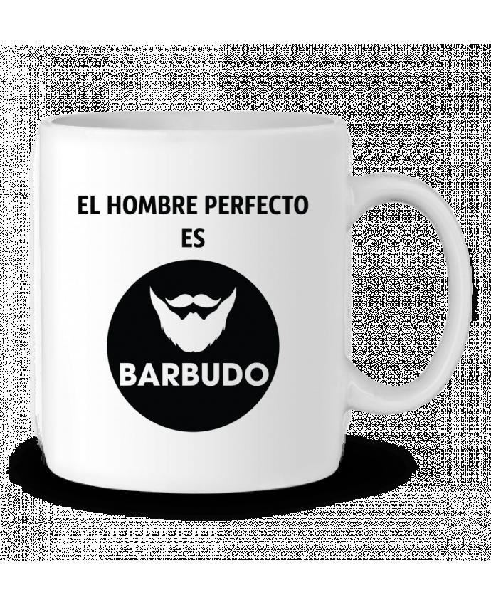 Taza Cerámica El hombre perfecto es barbudo por tunetoo
