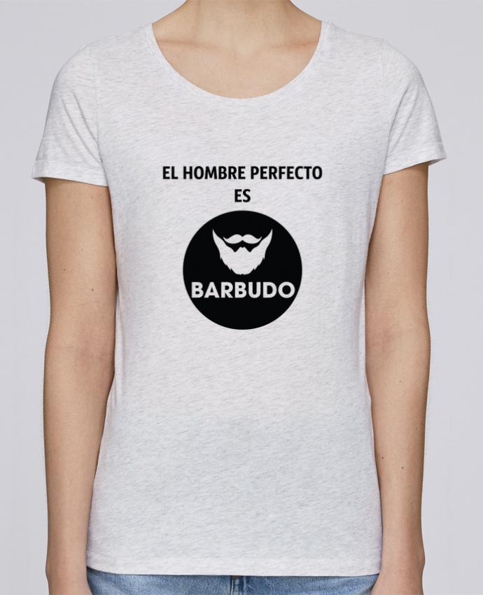 Camiseta Mujer Stellla Loves El hombre perfecto es barbudo por tunetoo