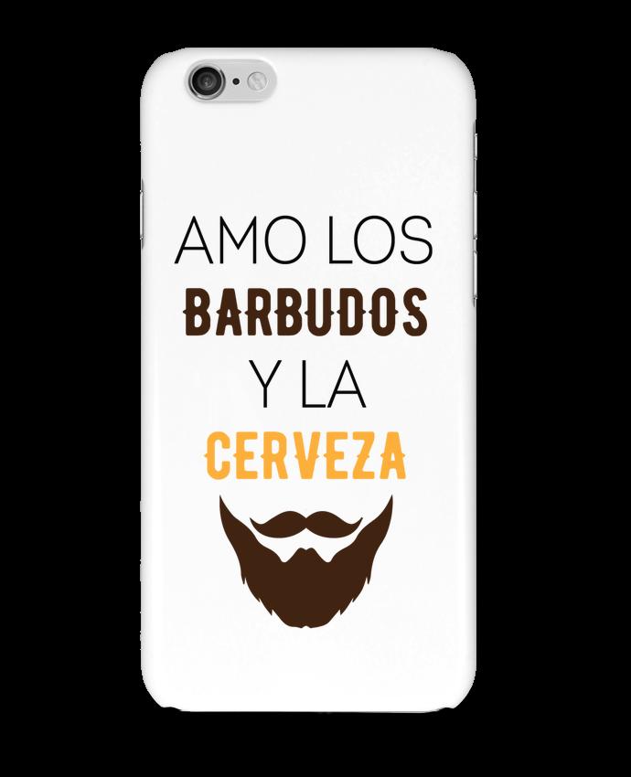 Carcasa  Iphone 6 Amo los barbudos y ma cerveza por tunetoo