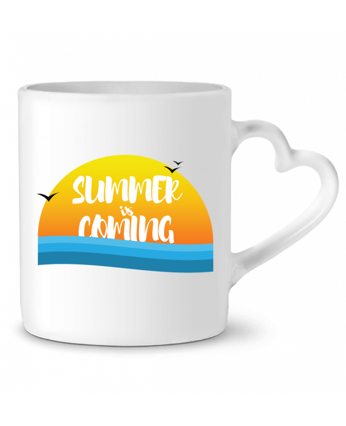 Taza Corazón Summer is coming por tunetoo