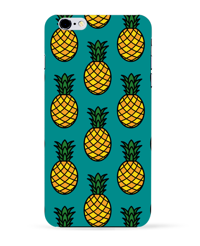 Carcasa Iphone 6+ Ananas orange de tunetoo