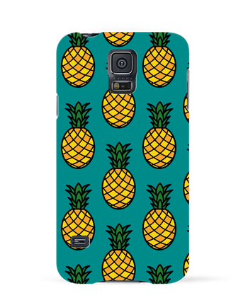 Carcasa 3D Samsung Galaxy S5 Ananas orange por tunetoo