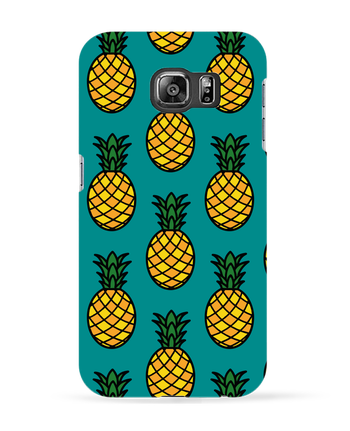 Carcasa 3D Samsung Galaxy S6 Ananas orange - tunetoo