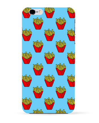 Carcasa 3D Iphone 6+ Frites de tunetoo