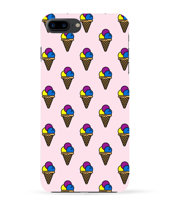 Carcasa 3D Iphone 7+ Ice cream por tunetoo