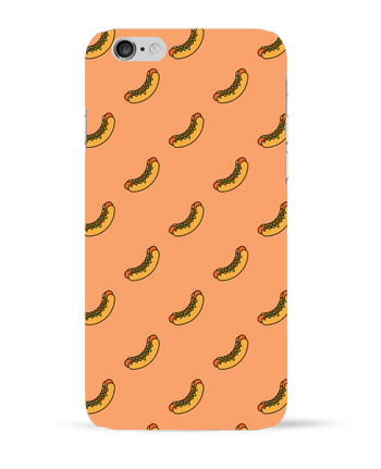 Carcasa 3D Iphone 6  Hot dog por tunetoo