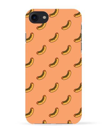Carcasa 3D Iphone 7 Hot dog de tunetoo