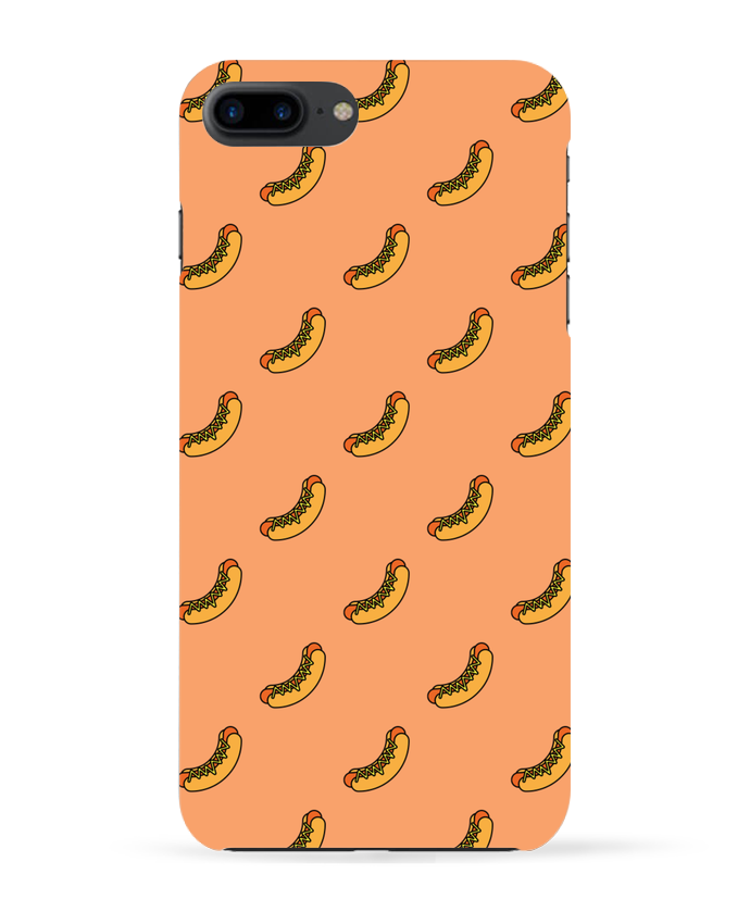 Carcasa Iphone 7+ Hot dog por tunetoo