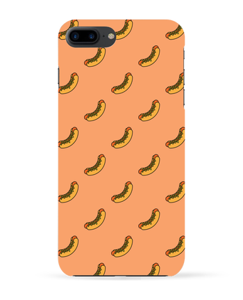 Carcasa 3D Iphone 7+ Hot dog por tunetoo