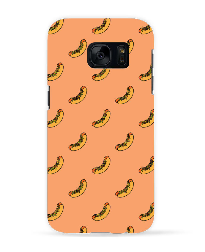 Carcasa Samsung Galaxy S7 Hot dog por tunetoo