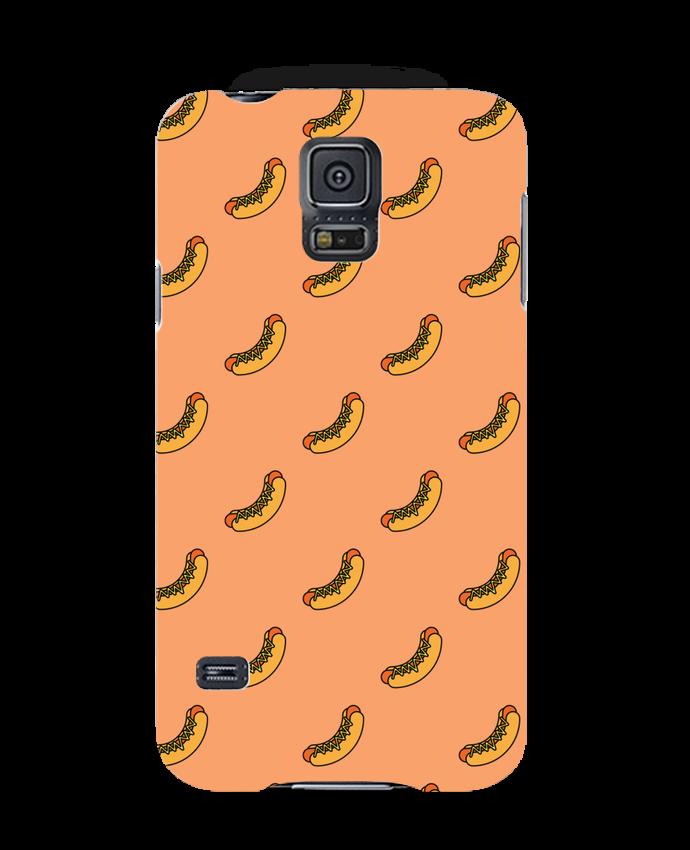 Carcasa Samsung Galaxy S5 Hot dog por tunetoo