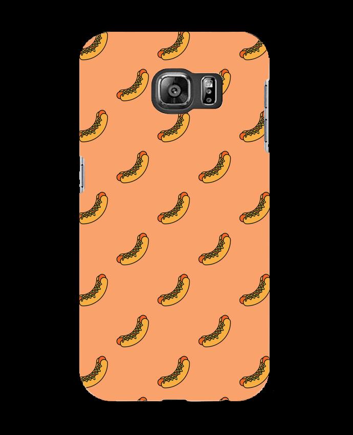 Carcasa Samsung Galaxy S6 Hot dog - tunetoo