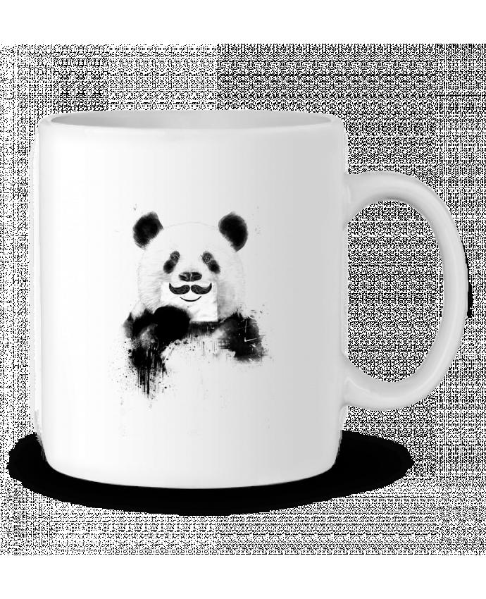 Taza Cerámica Funny Panda por Balàzs Solti