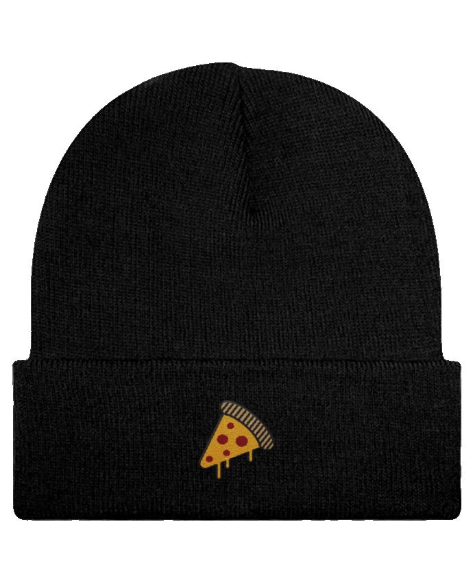 Gorro Beanie  Pizza slice por tunetoo