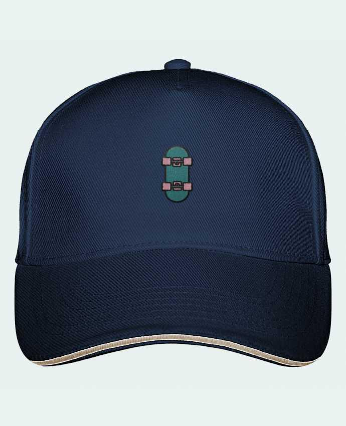 Gorra Panel 5 Ultimate Skate bleu por tunetoo