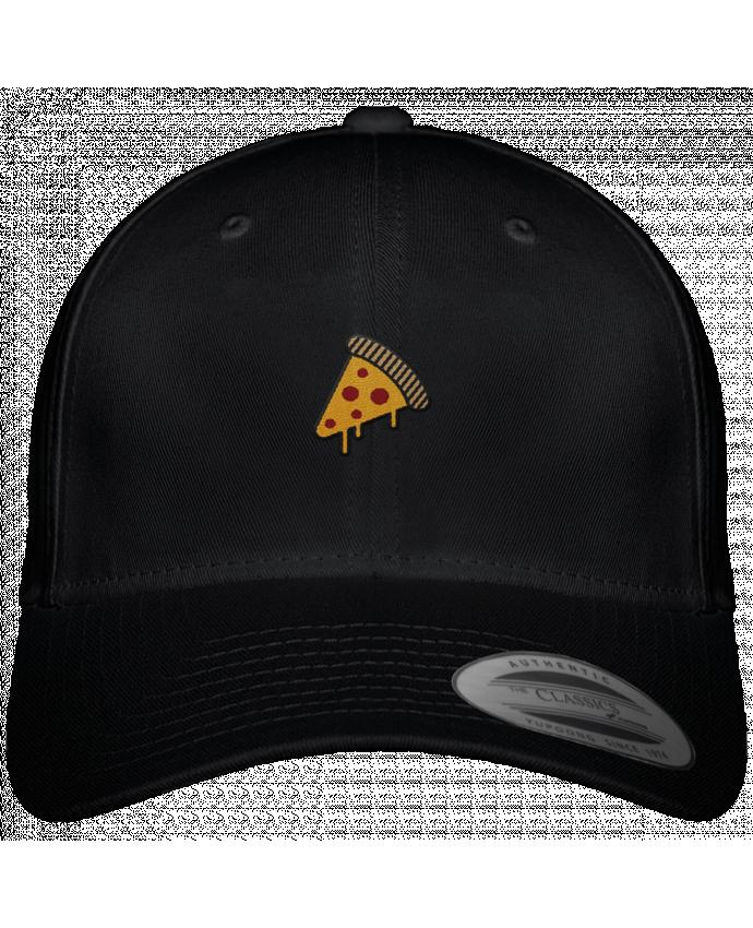 Gorra Panel 6 Flexfit Clásica Pizza slice por tunetoo