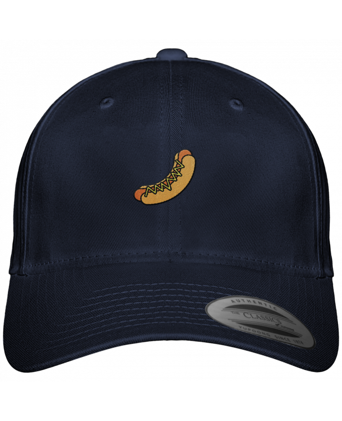 Gorra Panel 6 Flexfit Clásica Hot dog por tunetoo