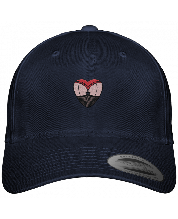 Gorra Panel 6 Flexfit Clásica Fesses dentelle por tunetoo
