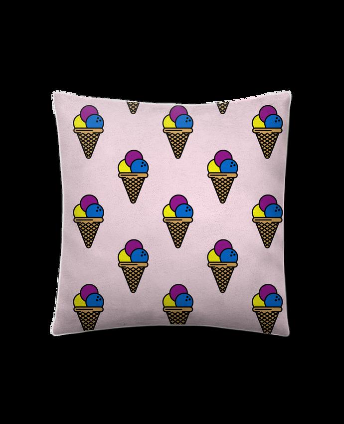 Cojín Piel de Melocotón 45 x 45 cm Ice cream por tunetoo