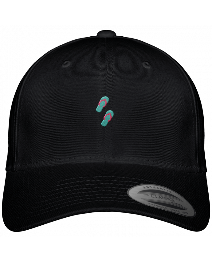 Gorra Panel 6 Flexfit Clásica Tongues por tunetoo