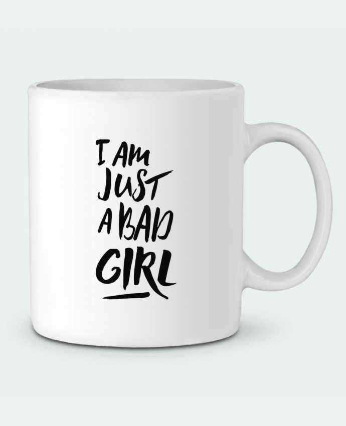 Taza Cerámica I am just a bad girl por tunetoo