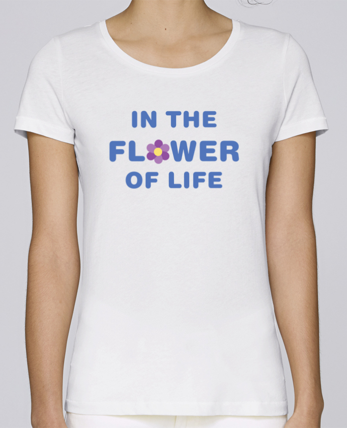 Camiseta Mujer Stellla Loves In the flower of life por tunetoo