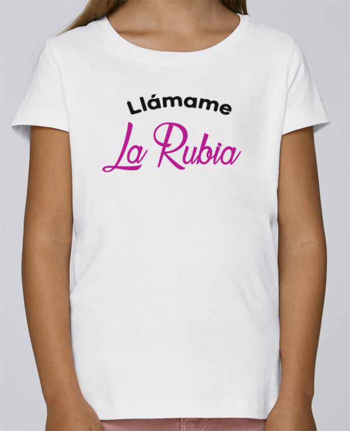 Camiseta Niña Stella Draws Llámame La Rubia por tunetoo