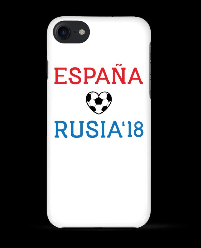 Carcasa Iphone 7 España Rusia 2018 de tunetoo