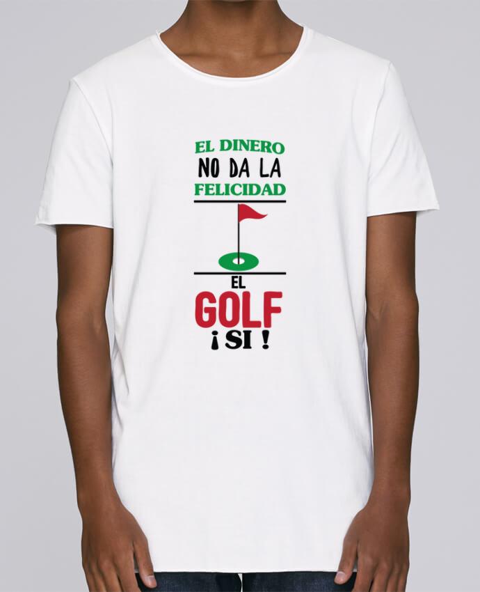 Camiseta Hombre Tallas Grandes Stanly Skates El dinero no da la felicidad, el golf si ! por tunetoo