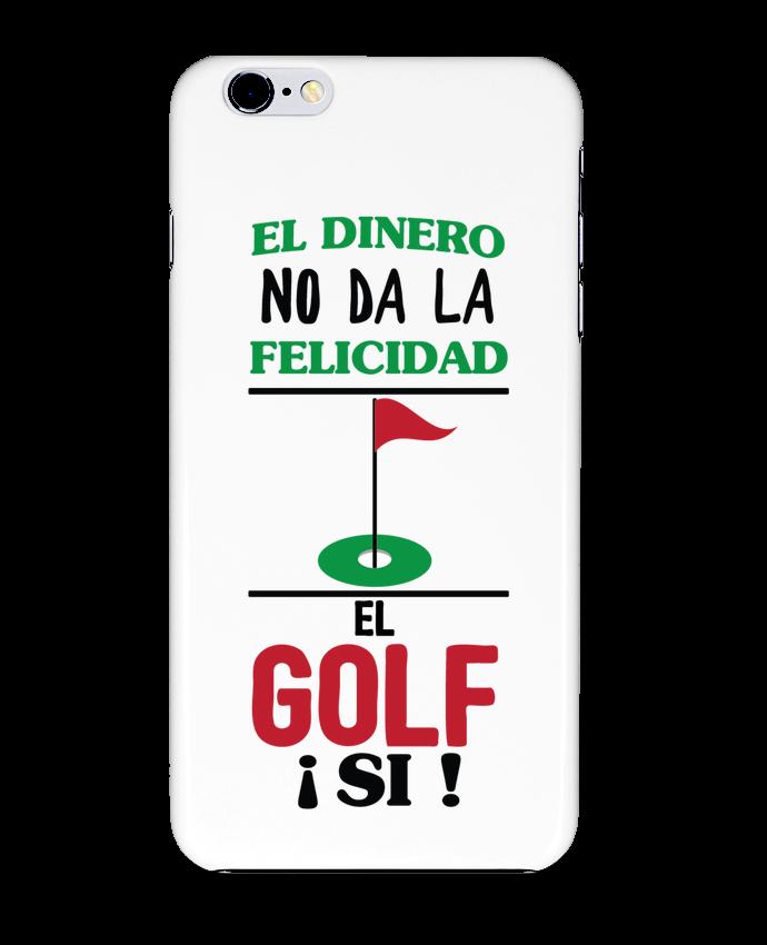 Carcasa Iphone 6+ El dinero no da la felicidad, el golf si ! de tunetoo