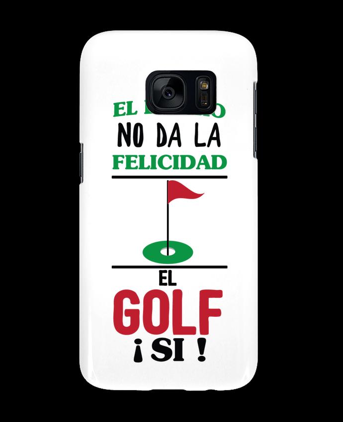 Carcasa Samsung Galaxy S7 El dinero no da la felicidad, el golf si ! por tunetoo