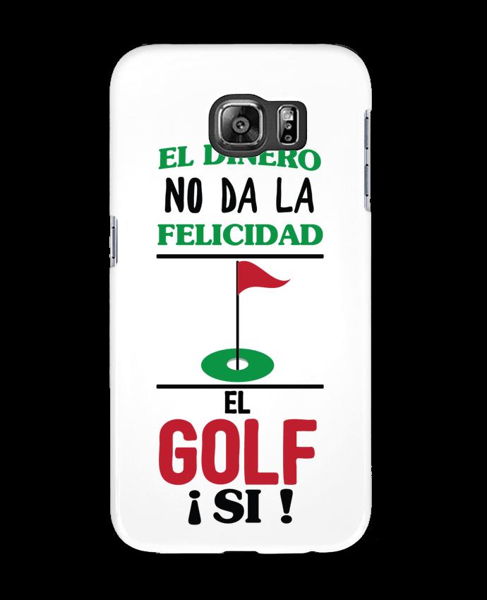 Carcasa Samsung Galaxy S6 El dinero no da la felicidad, el golf si ! - tunetoo