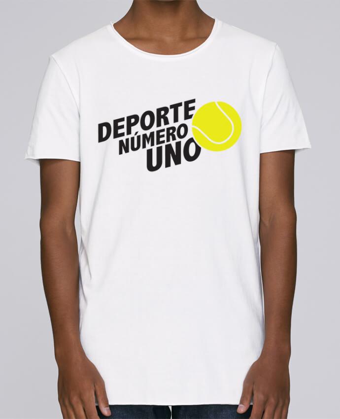 Camiseta Hombre Tallas Grandes Stanly Skates Deporte Número Uno Tennis por tunetoo